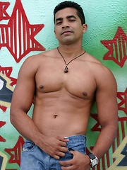 Handsome latin man