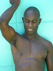 Bald ebony stud solo pictures