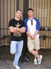 Ivan James and Johnny