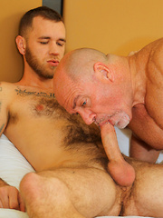 Daddy Leo Loves Hot Boy Cock