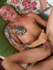 Jace hauled out Alexander cock and returned the favor
