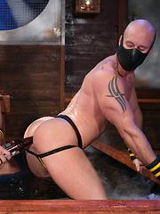 Dirty games of gay pornstars