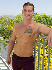 Sexy jock Zachary